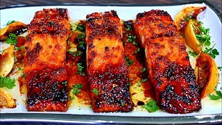 Browned Butter Honey Garlic Salmon Recipe - Easy Delicious Salmon Recipe