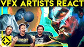 VFX Artists React to Their Own Bad & Great CGi