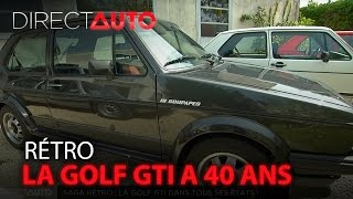 Les 40 ans de la Golf GTI - DIRECT AUTO