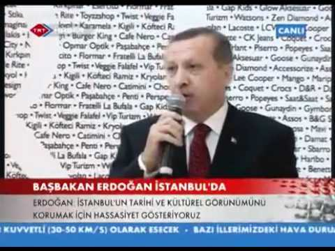 Başbakan Erdoğan Trump Towers Mall Açilis Konusmasi
