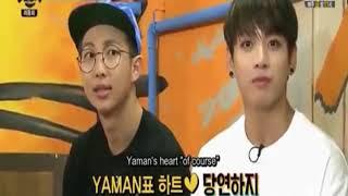 """[VOSTFR]  BTS Yaman TV Part 4 J-hope et V dans le jeu du """"bien sûr"""""""