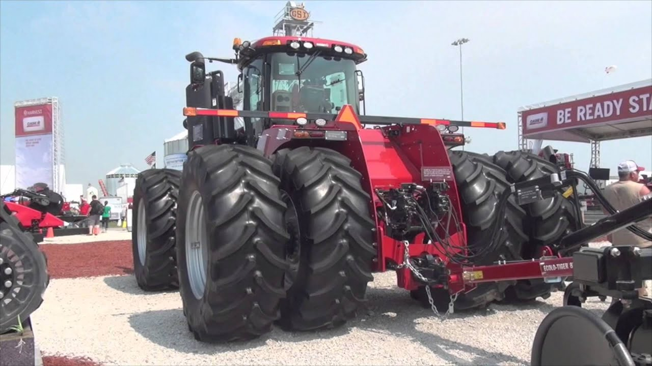 Case IH Steiger Tractors Switch Gears for 2016 - Most