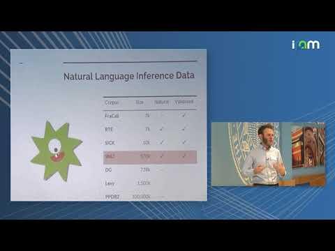 "Sam Bowman: ""Toward natural language semantics in learned representations"""