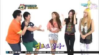 [EngSub] 120711 Weekly Idol − f(x) 3/3 {CHECK DESCRIPTION FOR AMBER'S DRAWING!!!}