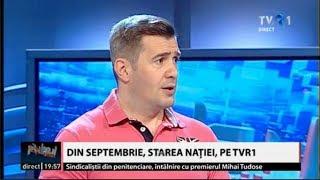 Dragoş Pătraru, despre revenirea emisiunii Starea naţiei la TVR1 (@Pulsul zilei)