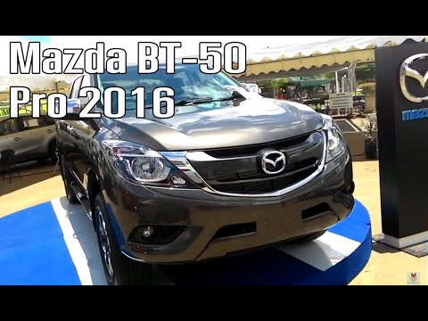 The New Mazda BT-50 Pro 2016 (Walkaround) | MZ Crazy Cars