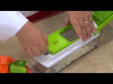 All In One Dicer Vegetable Fruit Slicer Cutter