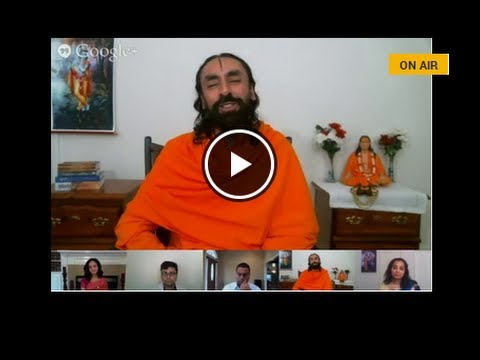 Why bad things happen to good people? [HANGOUT with Swami Mukundananda]