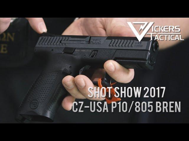 Shot Show 2017 - CZ-USA P10/805 Bren Carbine