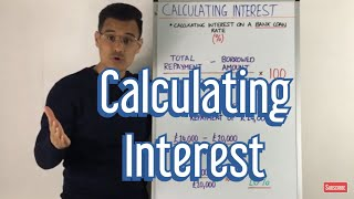 Calculating Interest Rates on a Bank Loan