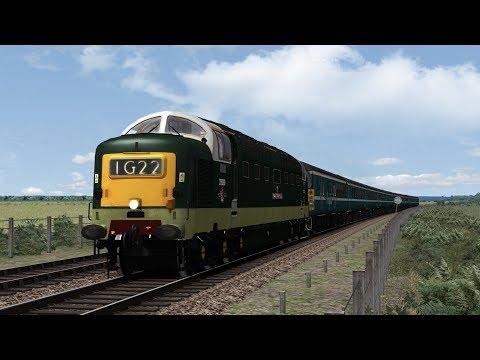 Train Simulator 2017: Class 55 Norwich - Great Yarmouth