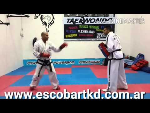Entrenamiento de taekwondo itf  en argentina