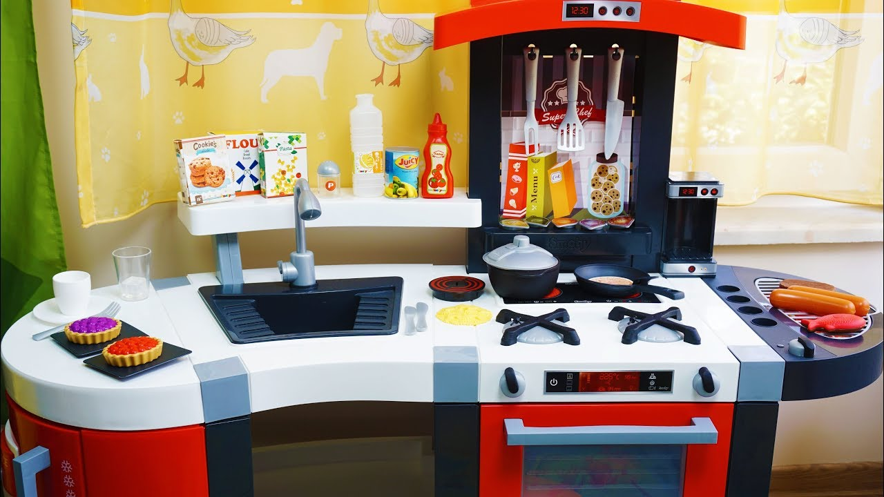 Smoby Küche Mini Tefal Smoby Tefal Super Chef Deluxe Play Kitchen Review