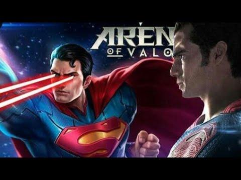 Aov Main Ranked Menggunakan Superman Game Play Superman Arena Of Valor