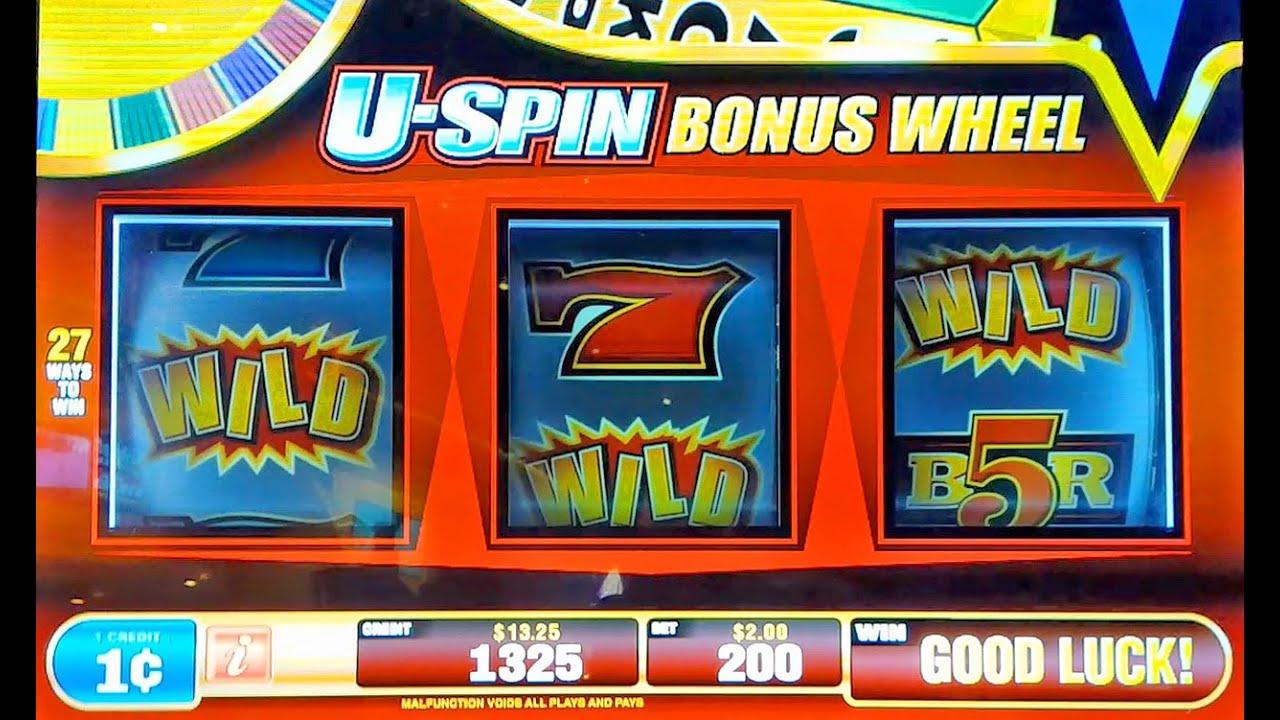 Play u spin slot machine