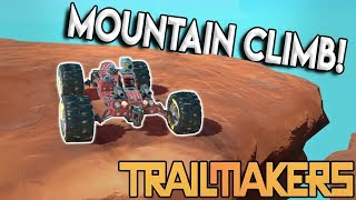 FLOATING MOUNTAIN CLIMB & BALL CHALLENGE! - Trailmakers Multiplayer Update Gameplay - Ep 2