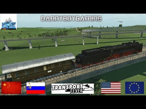 Transport Fever The Mods EP 79 The Deutsche Reichsbahn