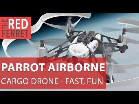 2015 Parrot Airborne Cargo Drone - hands on with this fast, fun flyer [Review]
