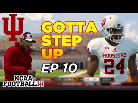 NCAA Football 14 Dynasty | Indiana Hoosiers - OVERCOMING INJURY!! - Ep 10
