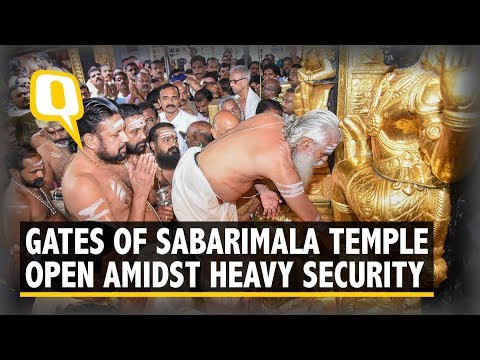 Sabarimala Temple Gates Open Amid Protests & Heavy Security | The Quint
