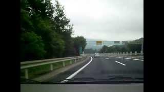 【車載動画】西風新都IC~五日市IC【広島自動車道】