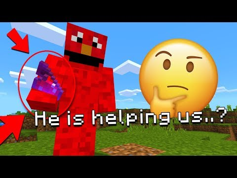 Is Good Elmo Trying To Help Us In Minecraft?! (SesameStreet.exe)