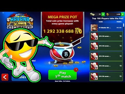 8 Ball Pool - HOW to GET HAVANA Classic Championship RING - 2017 !