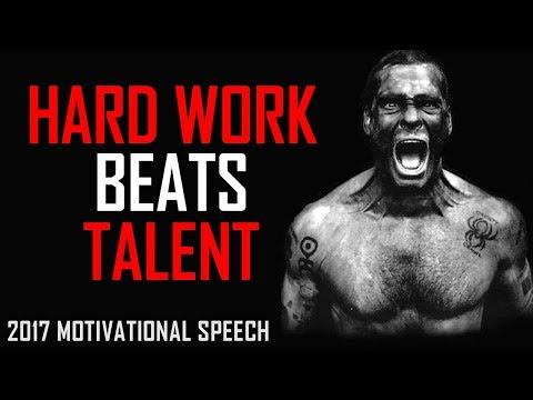 Les Brown: HARD WORK BEATS TALENT - Motivational Speech for Success & Study