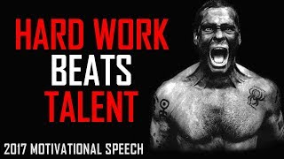 Les Brown: HARD WORK BEATS TALENT - Motivational Speech for Success & Study
