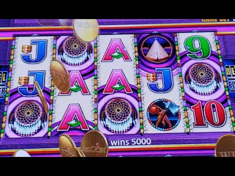 Slot Machine Video:Indian Dreaming Slot Play-$5.00 Bet-10 Spins Bonus from YouTube · Duration:  2 minutes 58 seconds