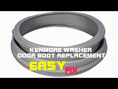 Kenmore Front Load Washer—Door Boot Replacement on