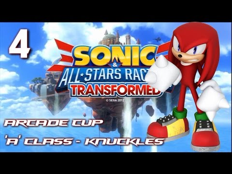 Sonic And All-Stars Racing Transformed - Arcade Cup (Knuckles)