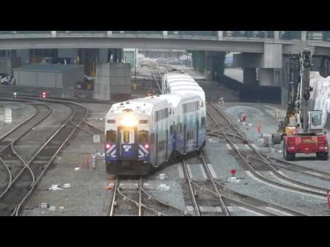 シアトル・サウンダーコミューターレール Sounder Commuter Rail King Street Station