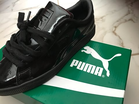 PUMA Classic Review/ Lace Up / On foot - YouTube