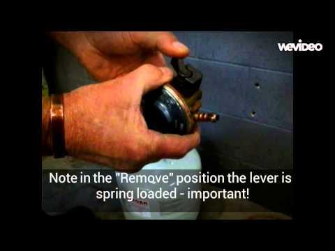 lpg changeover valve instructions