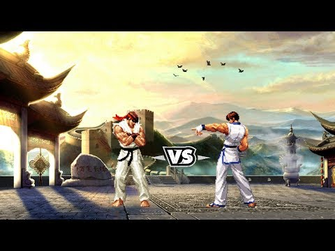 [Street Fighter vs. King of Fighters] Ryu vs. Kim Kaphwan