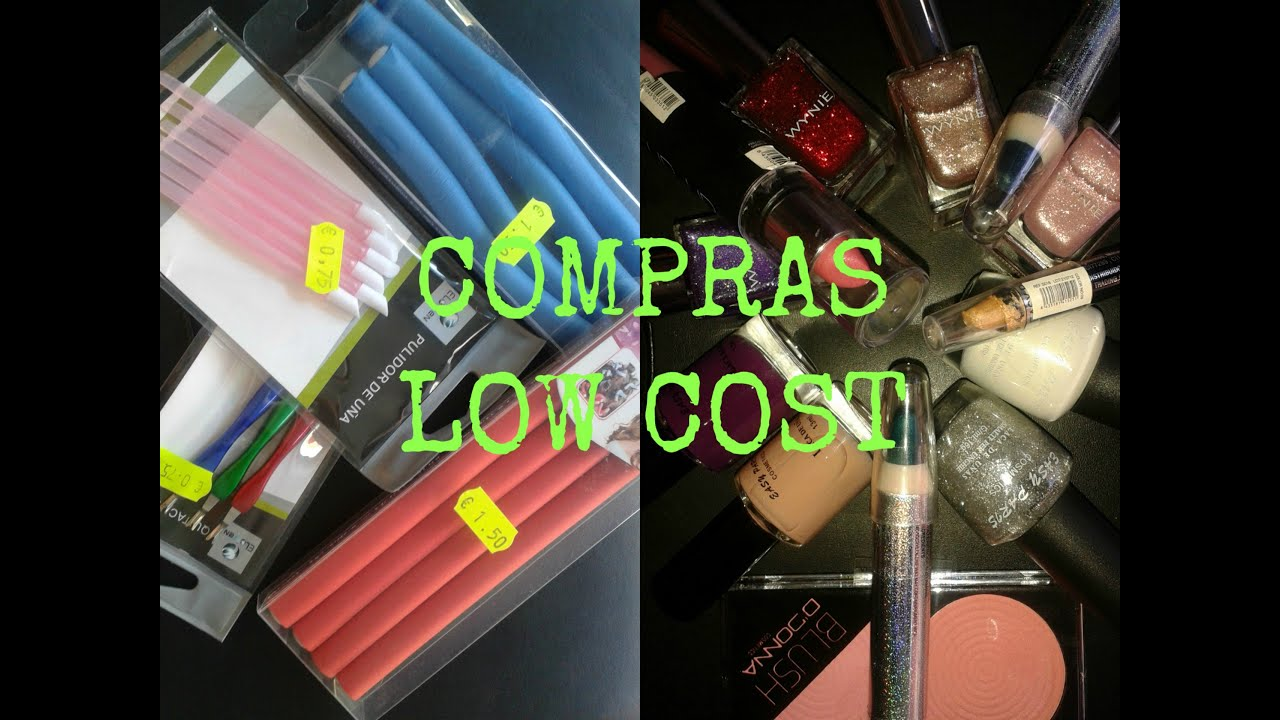 LOW COST : COMPRAS MAQUILLAJE - AGOSTO - YouTube
