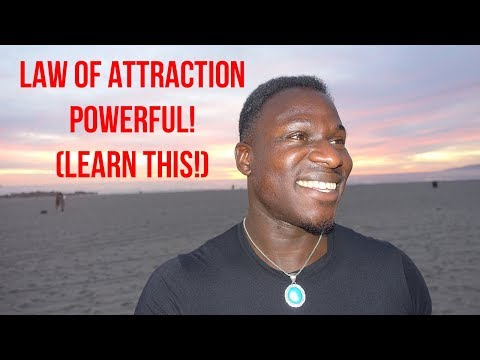 How to Stop Attracting Bad Energy (Law of Attraction!) Powerful!