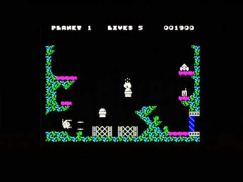 SPACE DISPOSAL (ZX SPECTRUM - FULL GAME)