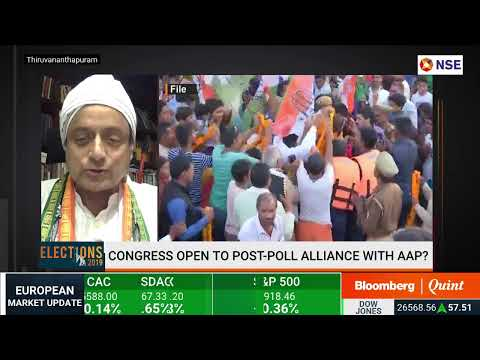 Congress' Wordsmith Shashi Tharoor Answers Tough Questions About #Elections2019: Primetime Debate