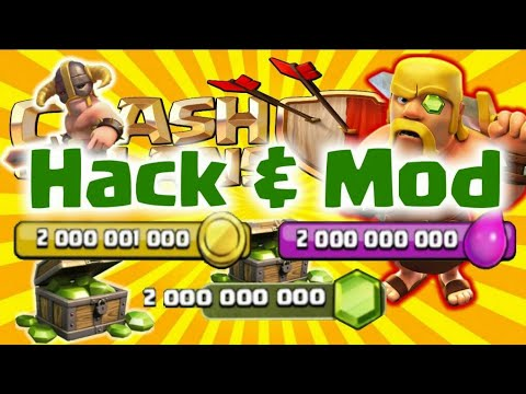 CLASH OF CLANS MOD UNLIMITED MONEY/GEMS