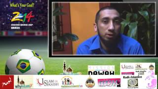 Nouman Ali Khan talks about Dawah among Latinos Info on 2014 Soccer Worldcup in Brazil Thumbnail