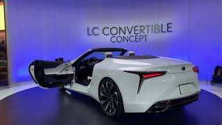 У Lexus LC 500 снесло крышу : кабриолет-флагман!