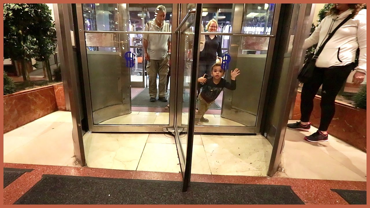 BOY STUCK IN REVOLVING DOOR!! & BOY STUCK IN REVOLVING DOOR!! - YouTube Pezcame.Com