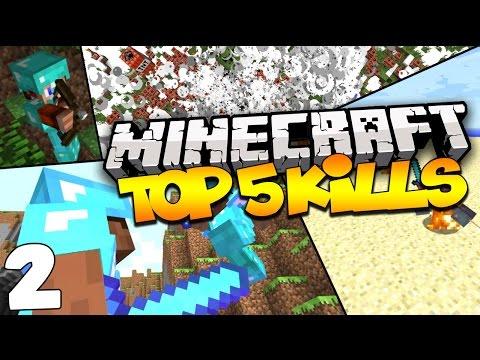 Top 5 Minecraft Kills - INSANE 360 BOW SHOT! (Episode 2)