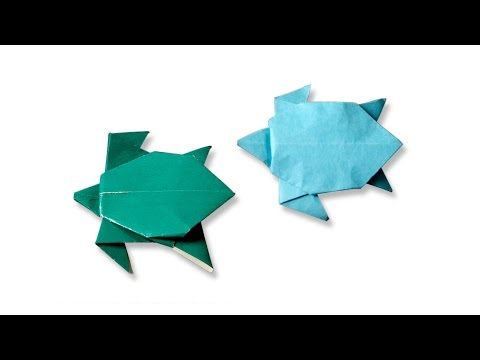 Origami Turtle | How to make a Turtle | Origami Turtle | Kids Origami