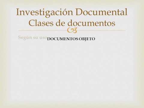 investigación-documental