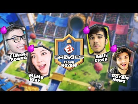 PLAYHARD x MEMU PLAY e BRUNO CLASH x ROYALE NEWS NA COPA EI GAMES DE CLASH ROYALE!