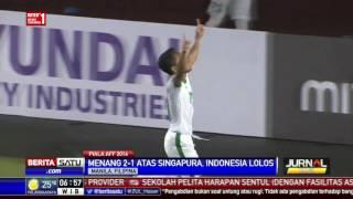 Kalahkan Singapura, Timnas Indonesia ke Semifinal Piala AFF 2016