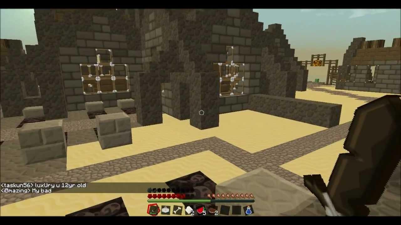 Minecraft WarZ Newly released zombie gun server YouTube